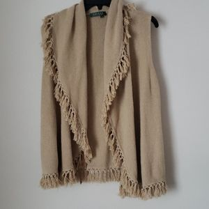 Poncho sweater Ralph Lauren